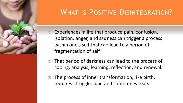 What is Positive Disintegration?