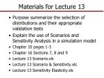 materials for lecture 13