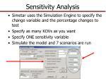 sensitivity analysis1