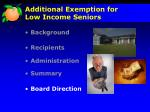additional exemption for low income seniors5