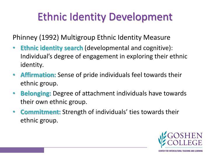 Ethnic Identity Development