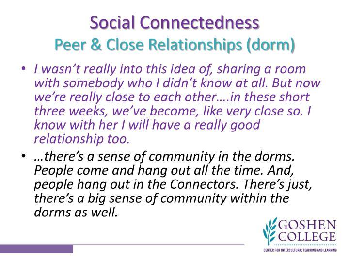 Social Connectedness