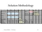 solution methodology