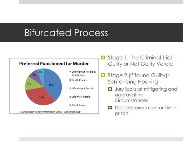 Bifurcated Process