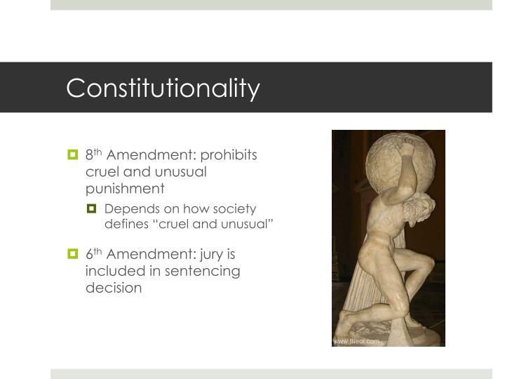 Constitutionality