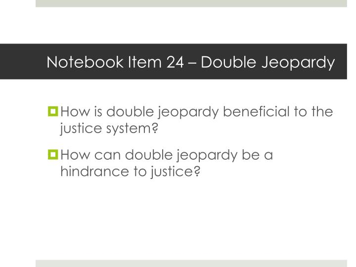 Notebook Item 24 –