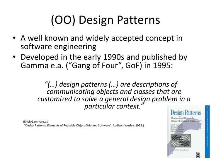 Oo design patterns