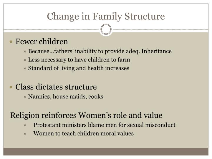 Change in Family Structure