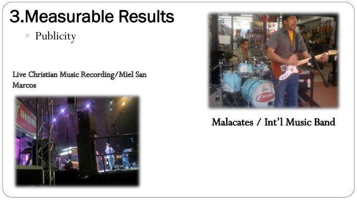 3.Measurable Results
