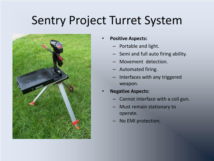 Sentry Project Turret System