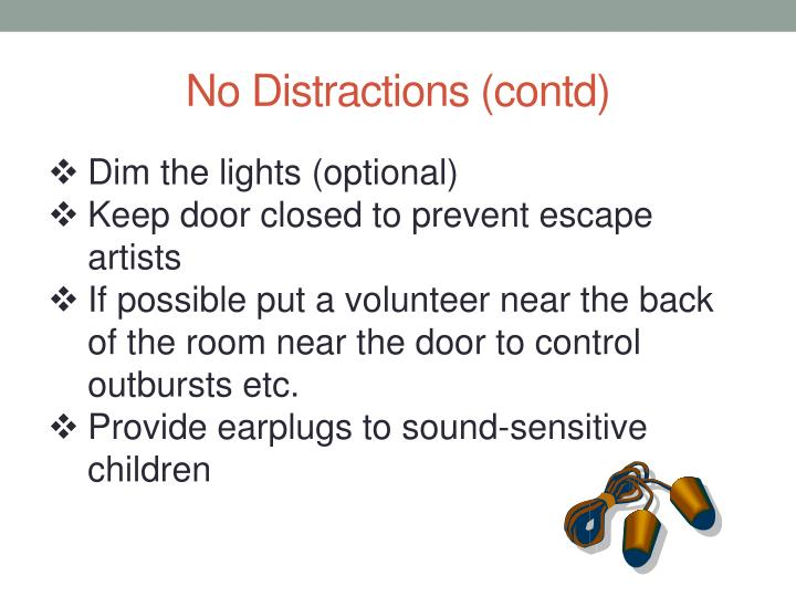 No Distractions (