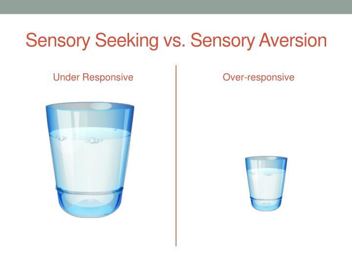 Sensory Seeking vs. Sensory Aversion