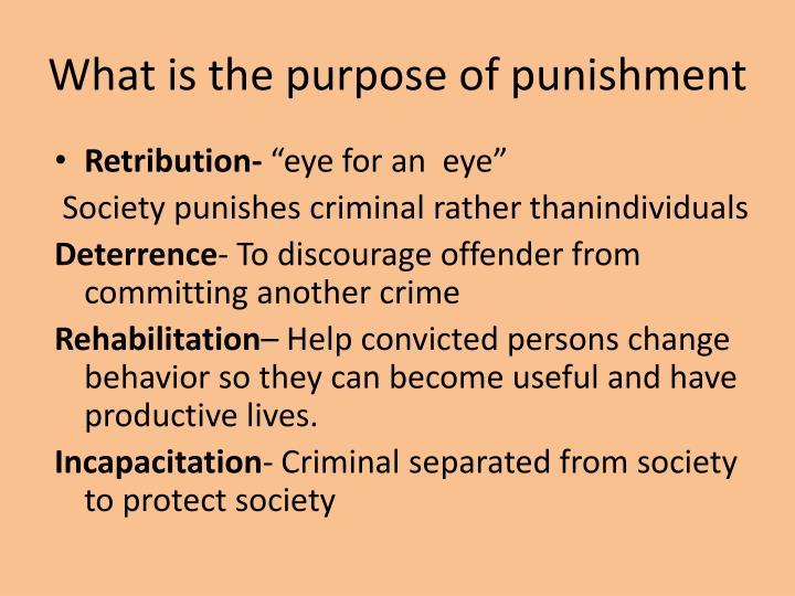 criminal rehabilitation proposal Publications stay informed punishment vs rehabilitation: a proposal for revising sentencing practices : url(s): pdf : others stress rehabilitation.