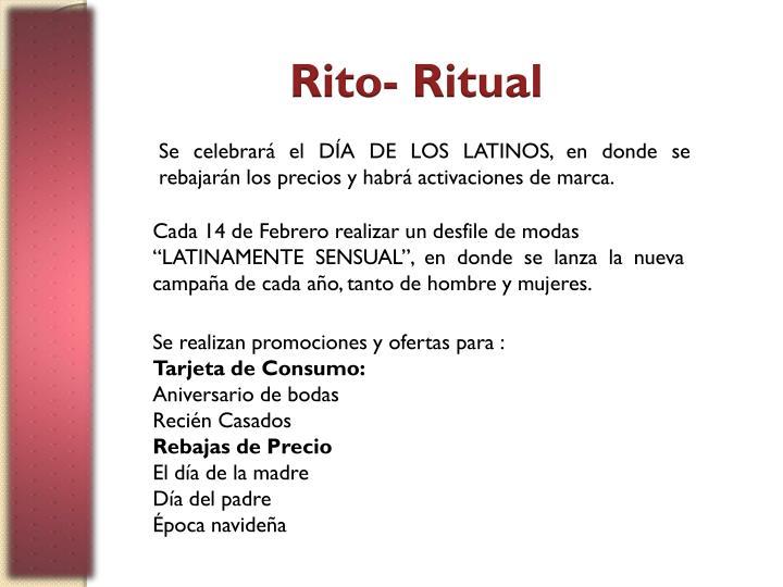 Rito- Ritual