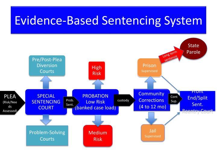 Evidence-Based Sentencing System