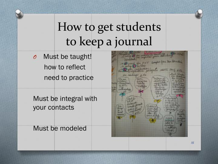 How to get students