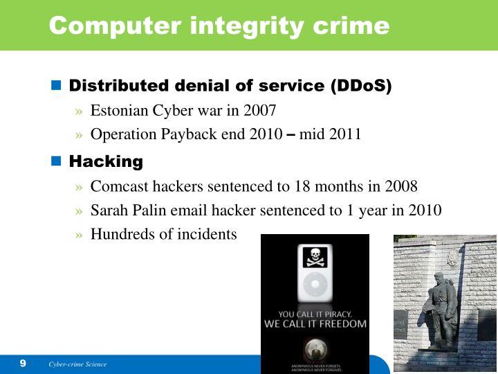 Computer integrity crime