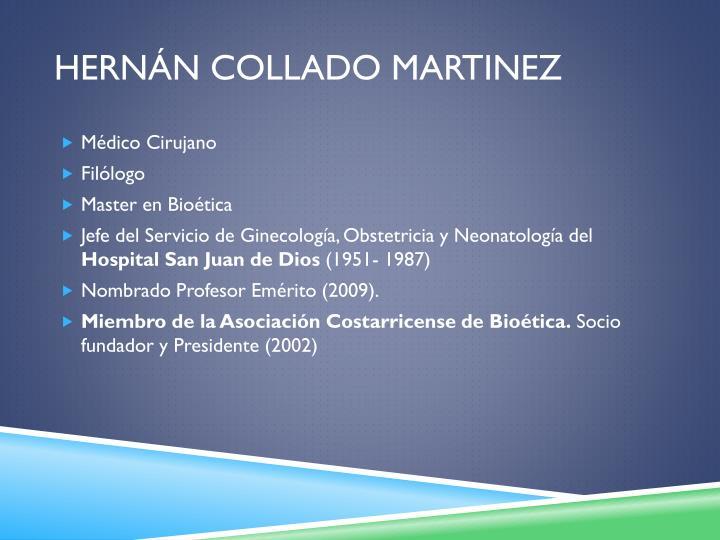 Hernán Collado Martinez