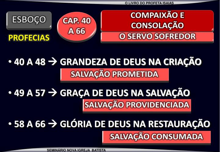 COMPAIXÃO E   CONSOLAÇÃO