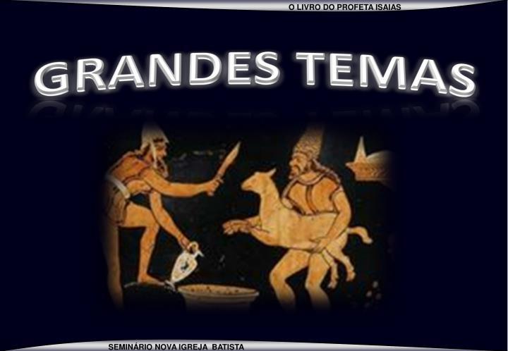 GRANDES TEMAS
