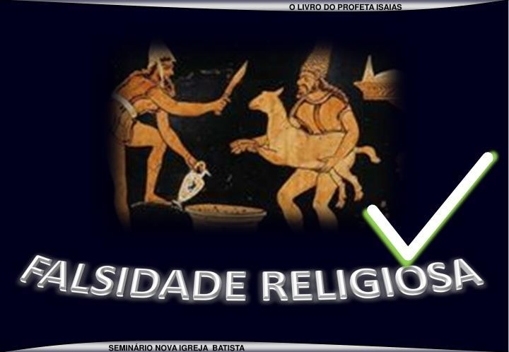 FALSIDADE RELIGIOSA