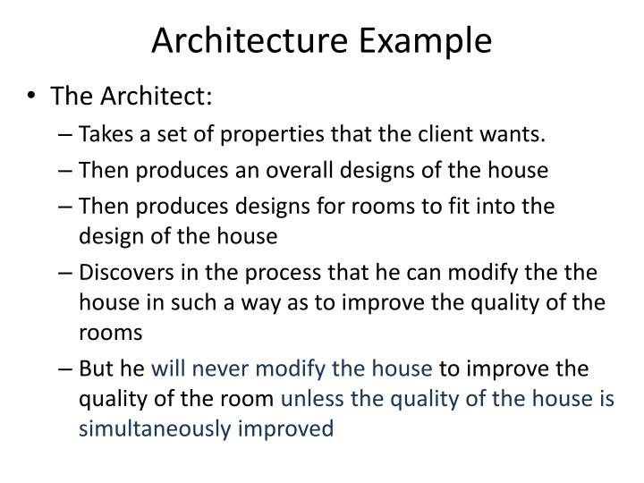 Architecture Example