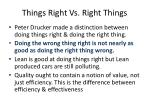 things right vs right things