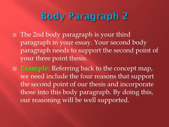 Body Paragraph 2