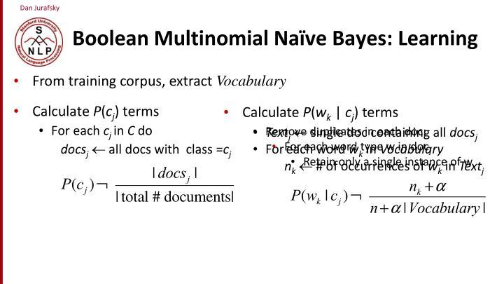 Boolean Multinomial