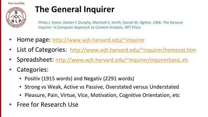 The General Inquirer