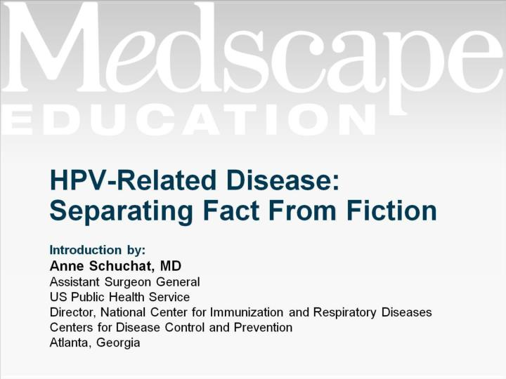 Hpv related disease separating fact from fiction
