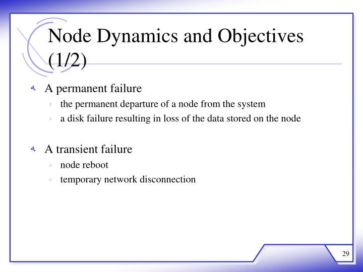 Node Dynamics and