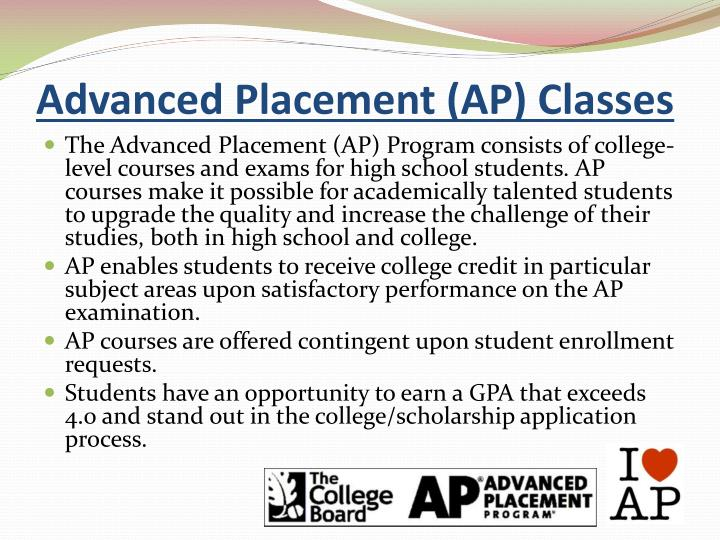 Advanced Placement (AP) Classes