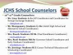 jchs school counselors
