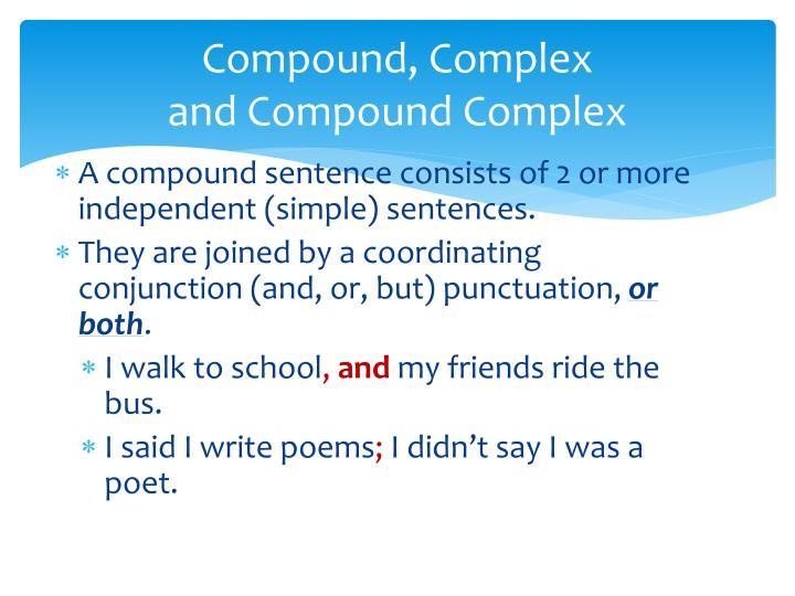 Compound, Complex