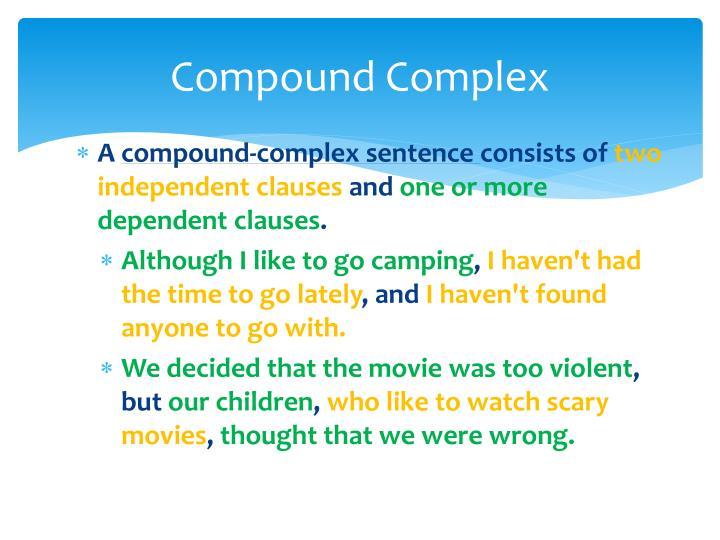 Compound Complex