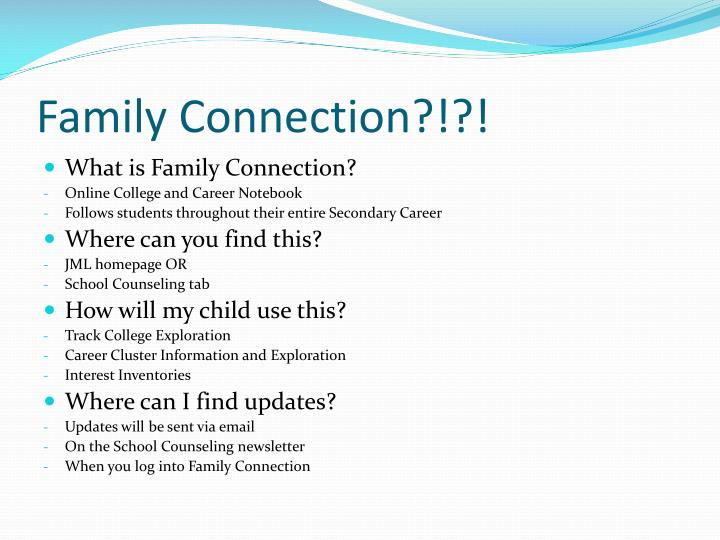 Family Connection?!?!