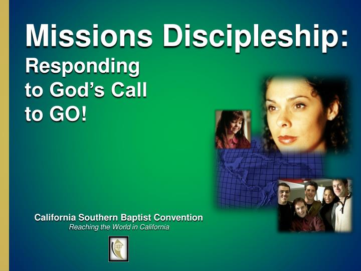 Missions Discipleship: