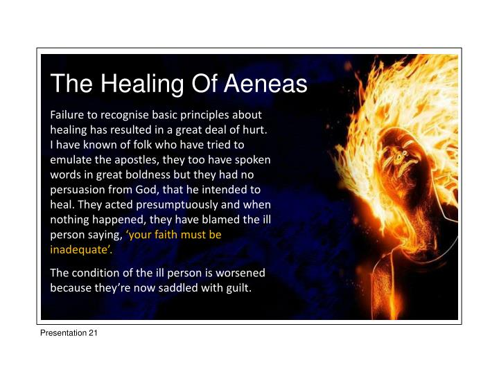 The Healing Of Aeneas