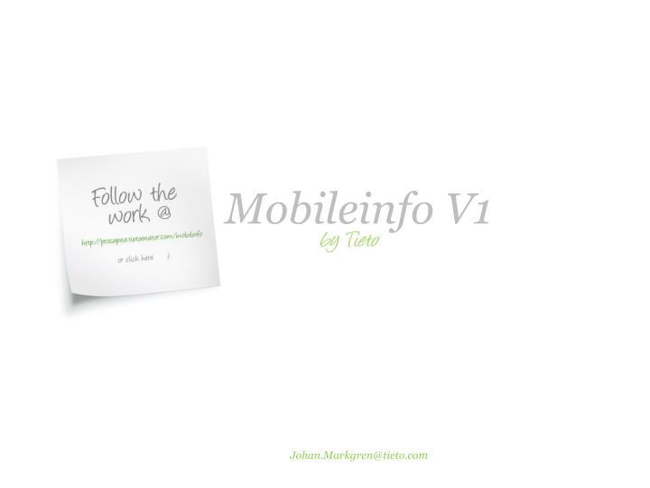Mobileinfo V1