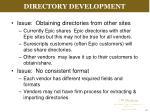 directory development