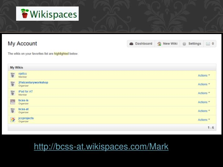 http://bcss-at.wikispaces.com/Mark