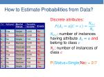 how to estimate probabilities from data4