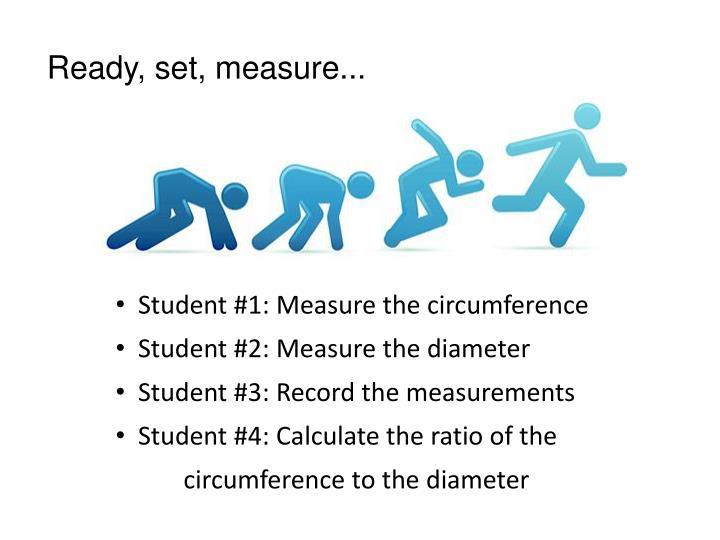 Ready, set, measure...