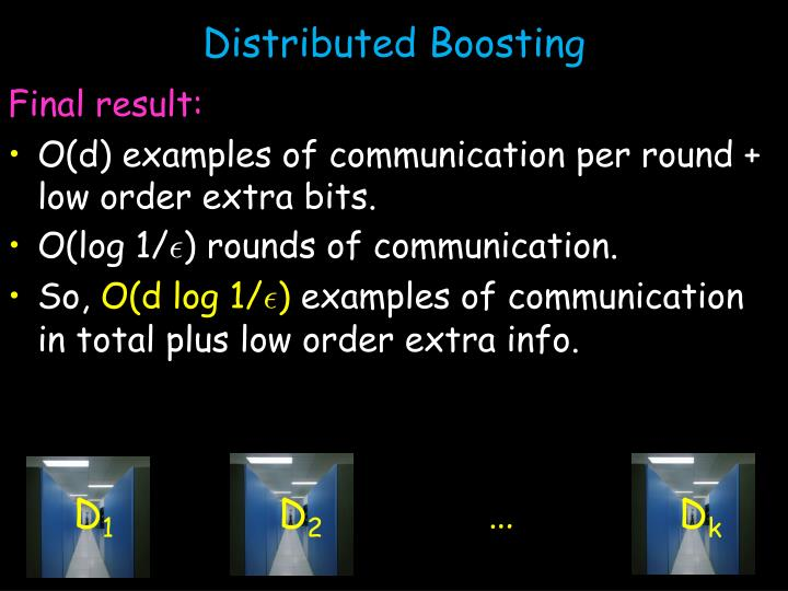 Distributed Boosting