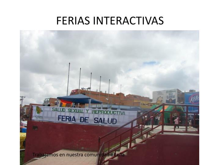 FERIAS INTERACTIVAS