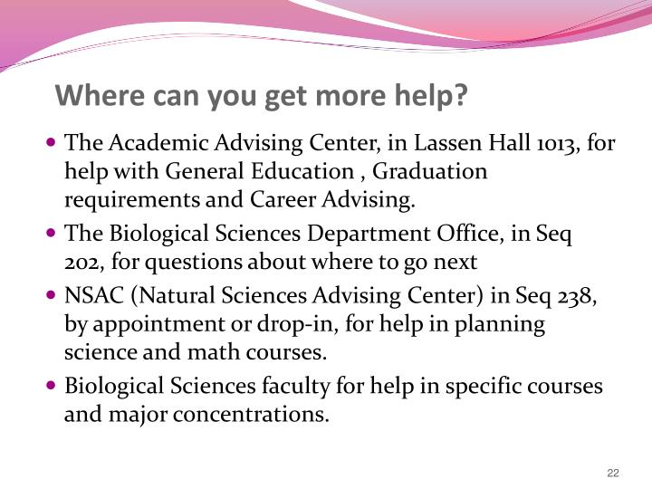 Where can you get more help?