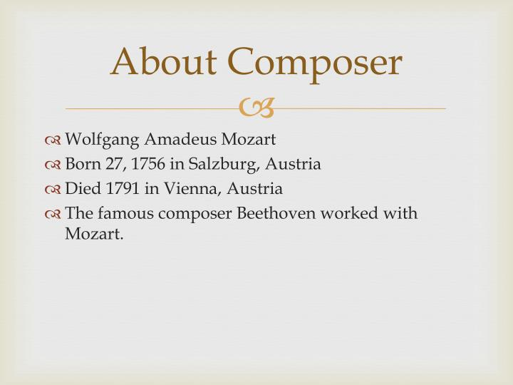 About Composer