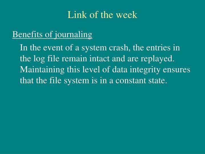 Link of the week