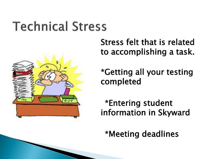 Technical Stress